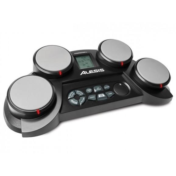 Alesis CompactKit 4: 4-Pad Portable Tabletop Drum Kit