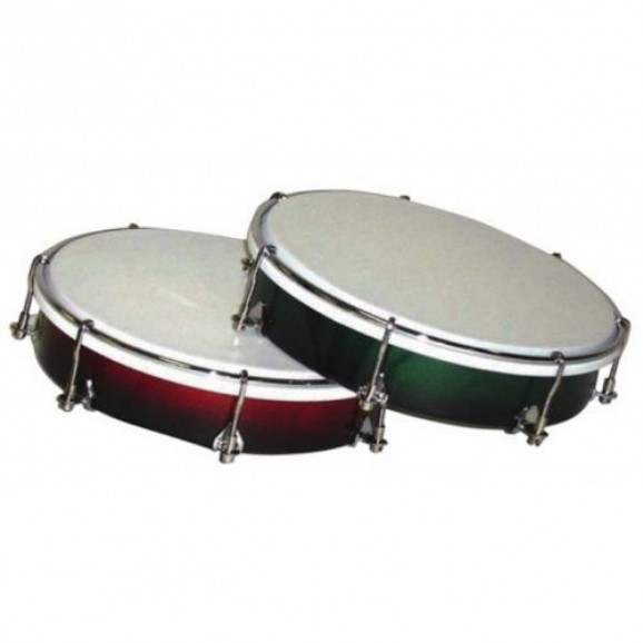 """Powerbeat 08"""" Tuneable Tambour in Wine Red"""
