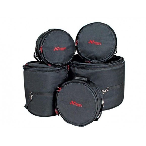 "Xtreme 5 Pce 20"" Fusion Size Drum Gig Bag Set"