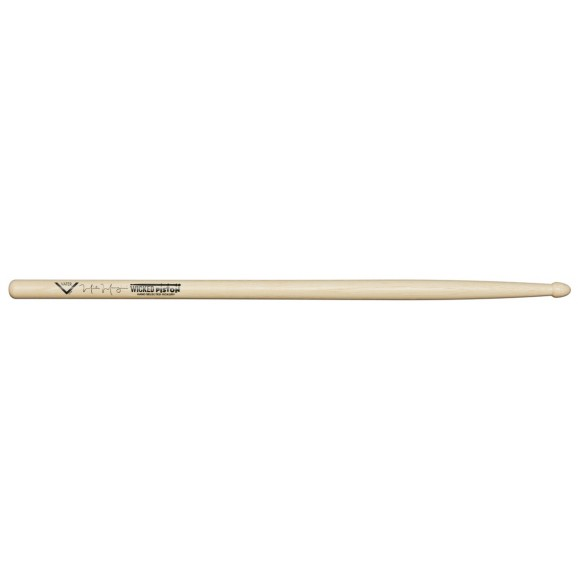 """Vater - Hickory """"Wicked Piston"""" Mike Mangini Wood Tip Drum Sticks"""
