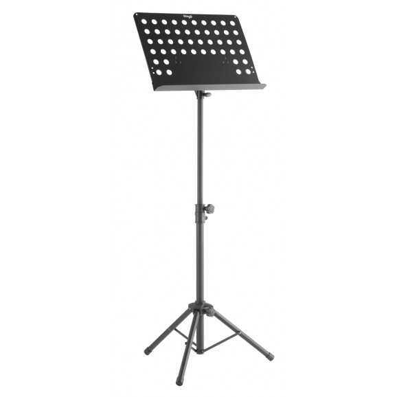 Stagg - Basic Orchestral Music Stand W/ Metal Music Rest & Punched Holes