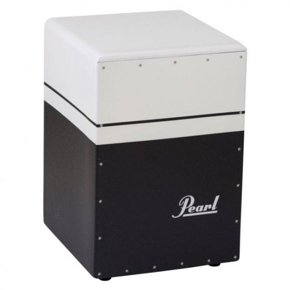 Pearl  PCJ-633BT Brush Beat Cajon Black and White