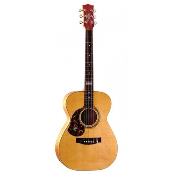 Maton EBG808 TE Tommy Emanuel Left Handed Acoustic Electric Guitar with Maton Hard Case