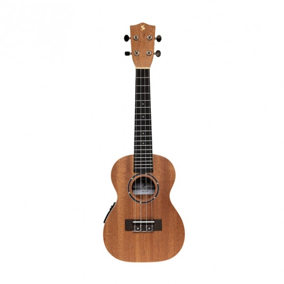 Stagg - Acoustic-Electric Concert Ukulele With Sapele Top And deluxe Tweed Case