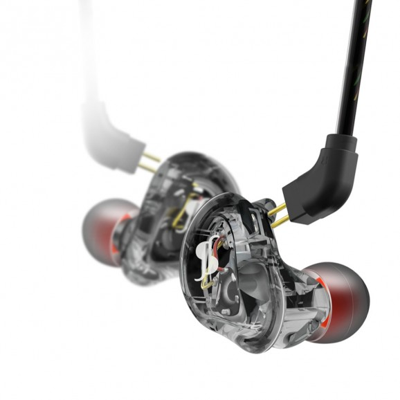 Stagg - High-Resolution Dual Driver In-Ear Monitors - Black