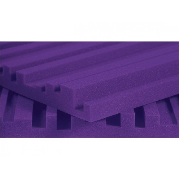 "Auralex 2"" SF Metro 2' x 4' Panels - Purple x 12"