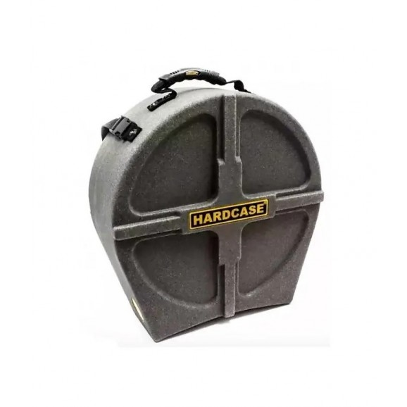 """Hardcase 14"""" Snare Drum Case Fully Lined in Granit finish"""