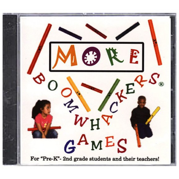"""Boomwhackers """"More Boomwhacker Games"""" CD Only"""