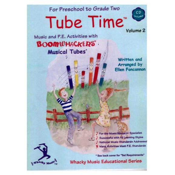 """Boomwhackers """"Tube Time Volume 2"""" Book/CD"""