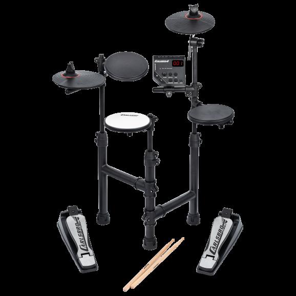Carlsbro CLUB100P 4 Piece Electronic Drum Kit Package.