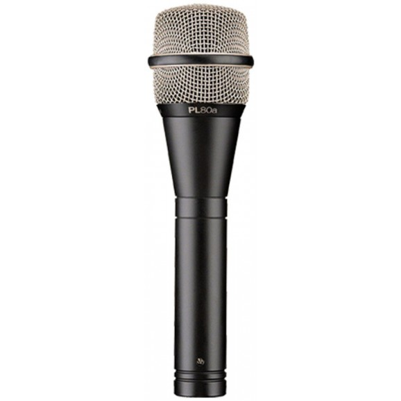 Electro-Voice PL80A Dynamic Supercardioid Vocal Microphone