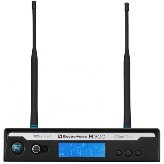 Electro-Voice R300 Handheld Wireless System with PL22 Dynamic Microphone (B-Band)