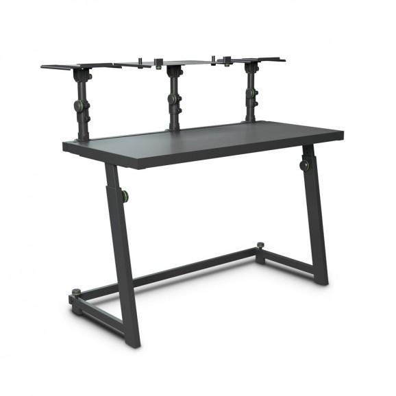 Gravity FDJT01 DJ Desk With Flexible Loudspeaker And Laptop Tray
