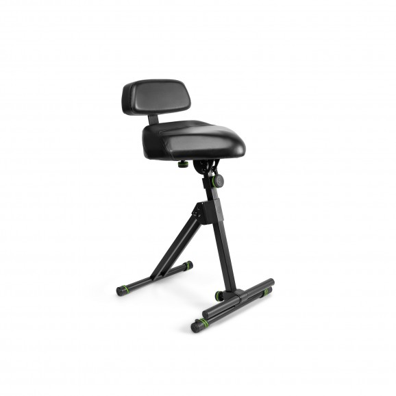 Gravity FMSEAT1BR Height Ad Stool W/ Foot & Backrest