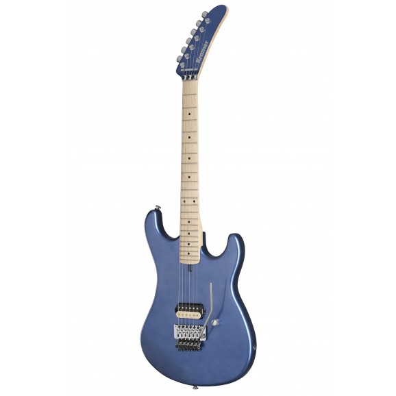 Kramer 84 Electric Guitar Alder body Blue Metallic