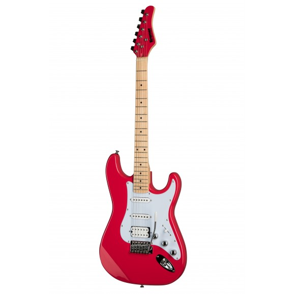 Kramer Focus VT211S Electric Guitar in Ruby Red