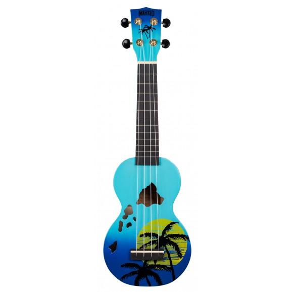 Mahalo MD1HABUB - Soprano Ukulele - Hawaii - Blue Burst