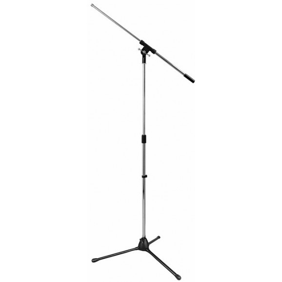 "On Stage Boom Mic Stand with 30"" Euro Boom in Chrome"