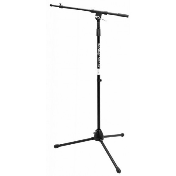 On Stage Boom Mic Stand with Telescoping Euro Boom
