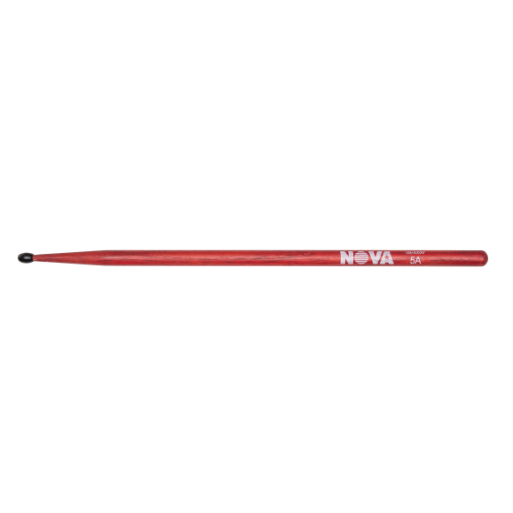 Vic Firth - 5AN in red with NOVA imprint Drumsticks