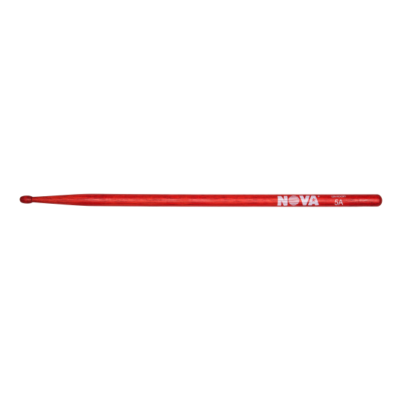 Vic Firth - 5A in red with NOVA imprint Drumsticks