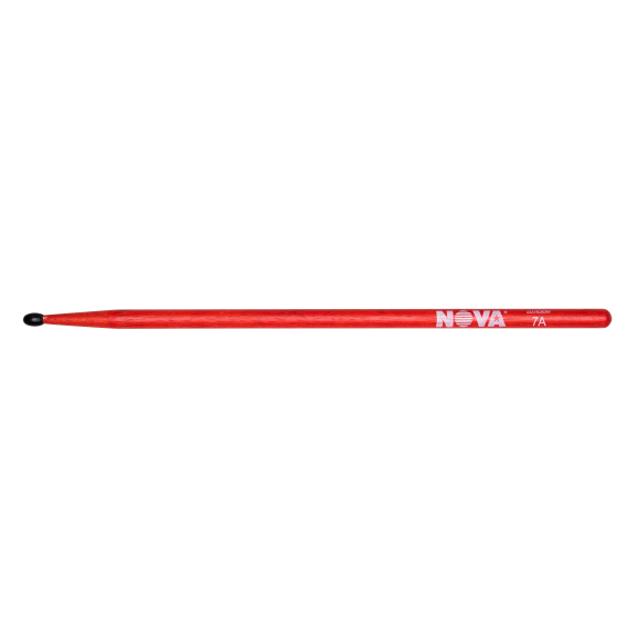 Vic Firth - 7AN in red with NOVA imprint Drumsticks