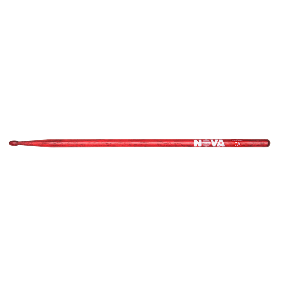 Vic Firth - 7A in red with NOVA imprint Drumsticks