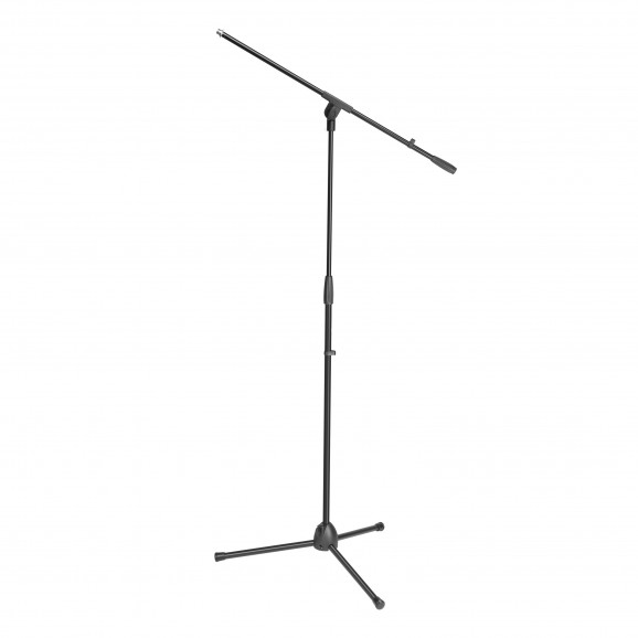 Adam Hall S5BE Microphone Stand Black With Boom Arm