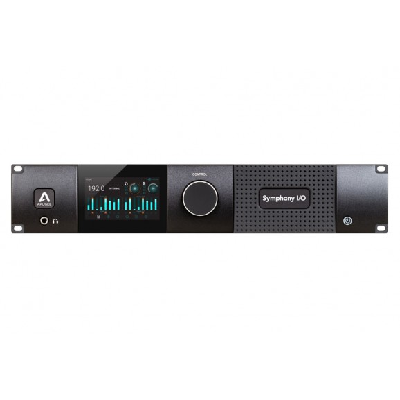 Apogee Sym2-16X16S2-A8Mp-Dante - Symphony I/O MKII Dante Chassis with 16 Analog In + 16 Analog Out + 8 Mic Pre Amp Module (Both slots populated)