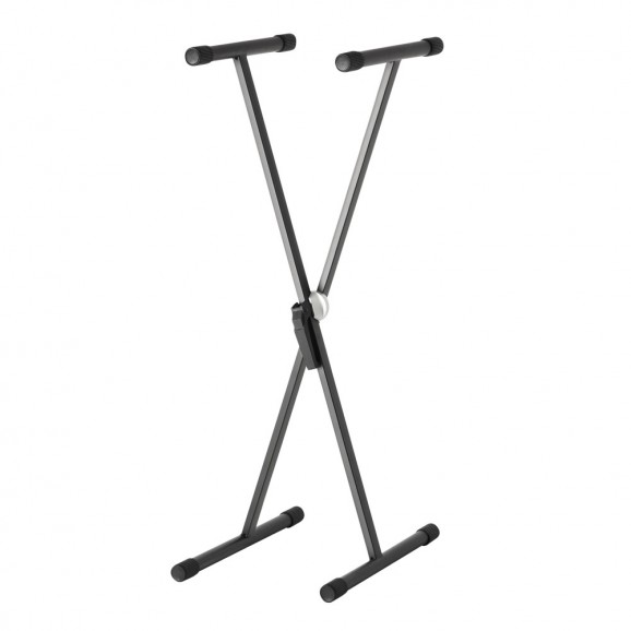 Adam Hall SKS01 Steel X-Frame Keyboard Stand Black