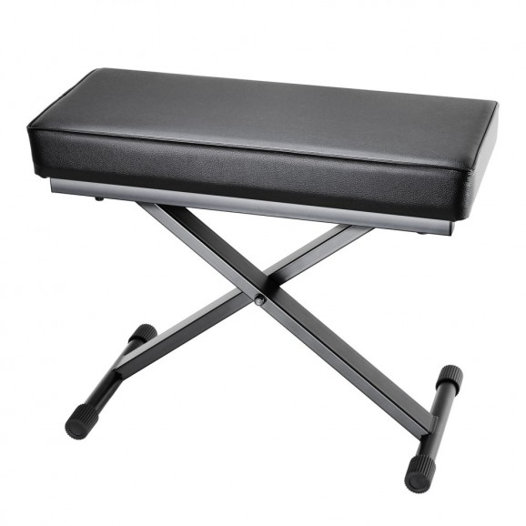 Adam Hall SKT17 Folding Keyboard Bench With Extra Thick Padding