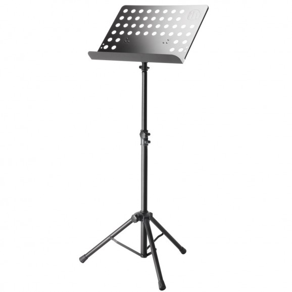 Adam Hall SMS17 Music Stand With Perforated Steel Desk