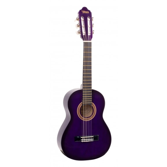 Valencia VC101RDS - 1/4 Size Classical Guitar - Gloss Red Sunburst