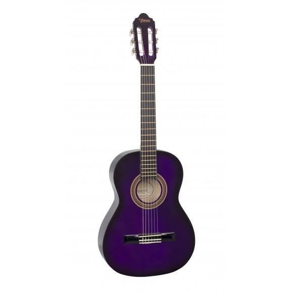 Valencia VC103PPS - 3/4 Size Classical Guitar - Gloss Purple Sunburst