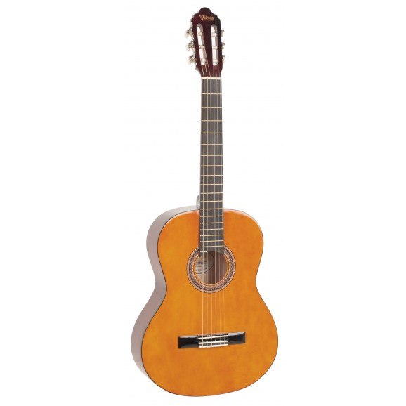 Valencia VC104 - Full Size Classical Guitar - Gloss Natural