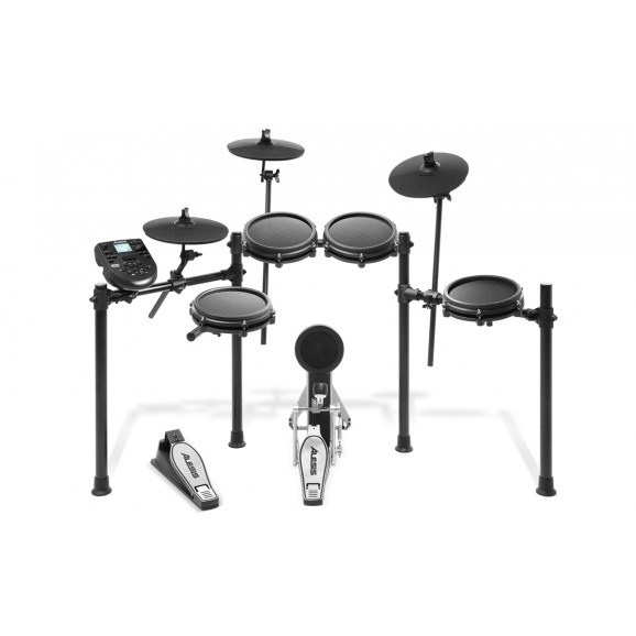 Alesis Nitro Mesh Eight Piece Electronic Drum Kit with Mesh Heads - Preorder (ETA: Early May)