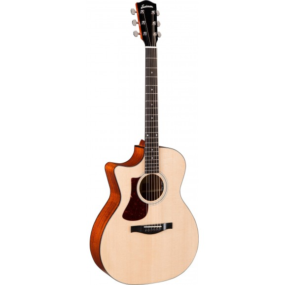 Eastman AC122L-1CE Left Handed Acoustic Guitar Solid Spruce Top With Solid Sapele Back And Sides