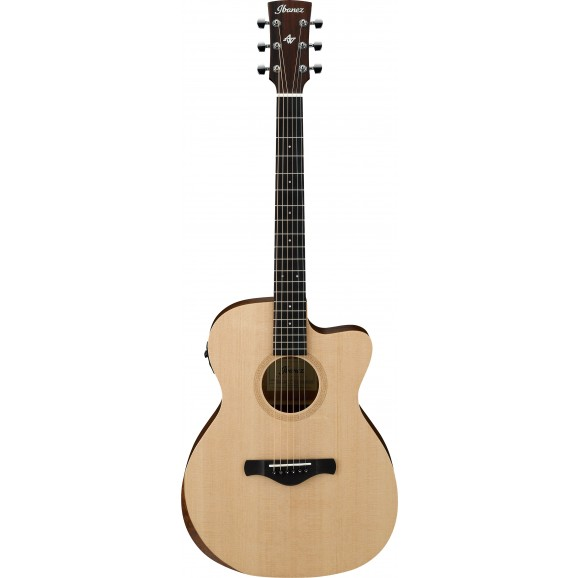 Ibanez -  AC150CE OPN Acoustic Electric Guitar - Open Pore Natural - 2019