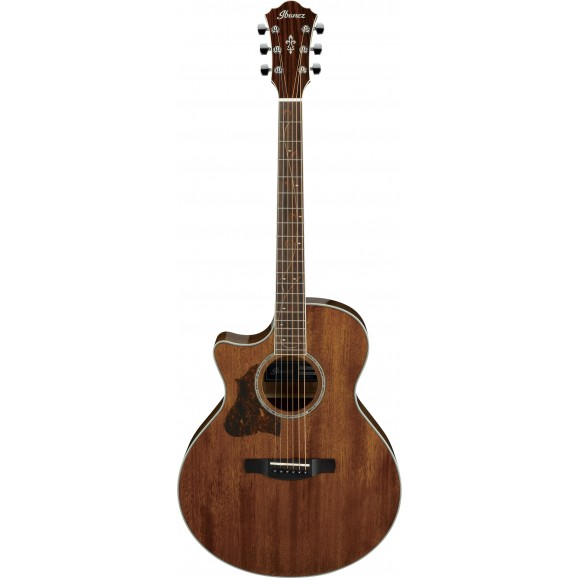 Ibanez -  AE245L NT Acoustic Guitar Left Handed - Natural High Gloss - 2019