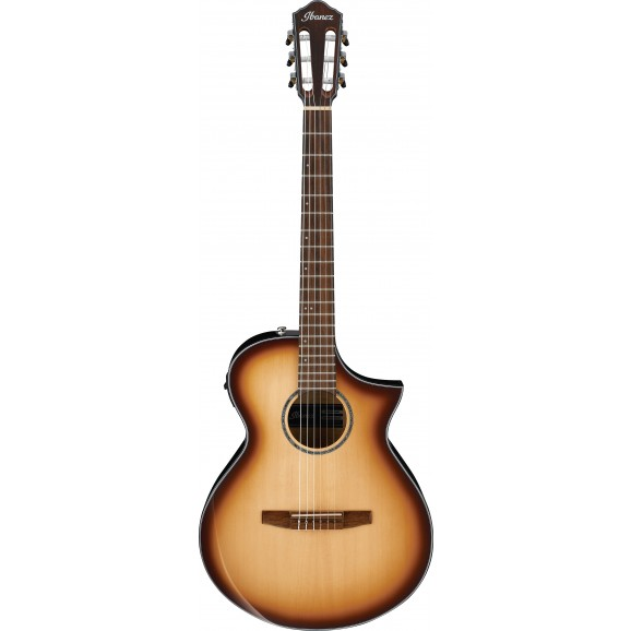 Ibanez -  AEWC300N NNB Acoustic Guitar - Natural Browned Burst High Gloss - 2019