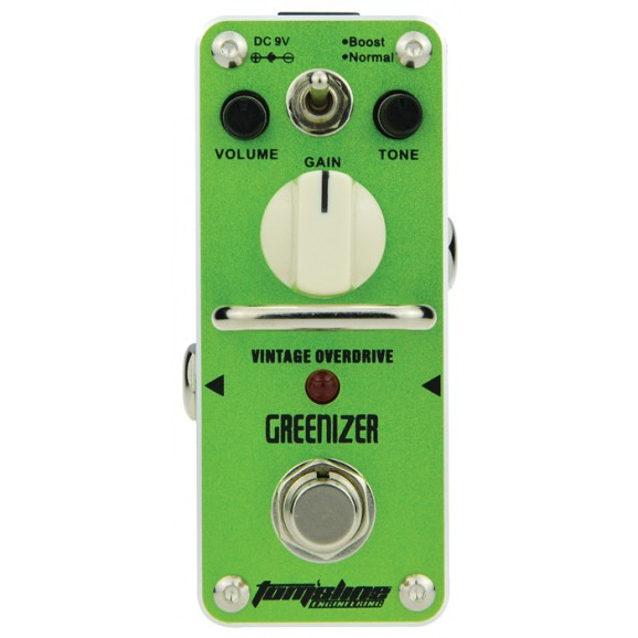 Aroma Toms Line GreenIZER Mini Guitar Pedal- Call Us To Check Availability