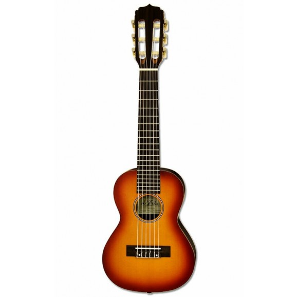 Aria AGU160TS G-Uke Series 6-String Guitalele in Sunburst Spruce Semi-Gloss Finish