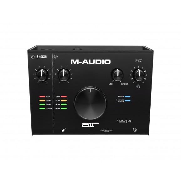 M-Audio - AIR 192/4 USB Audio Interface w/Pro Tools + Ableton