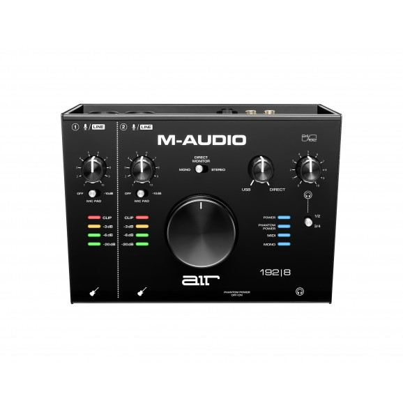 M-Audio - Air 192x8 2-In/4-Out 24/192 USB Audio/MIDI Interface