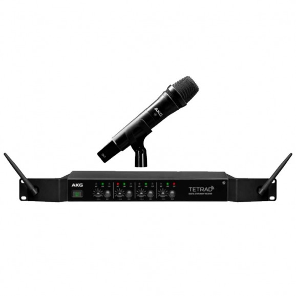 AKG 4Channel Wireless Vocal Set with D5 Handheld Microphone
