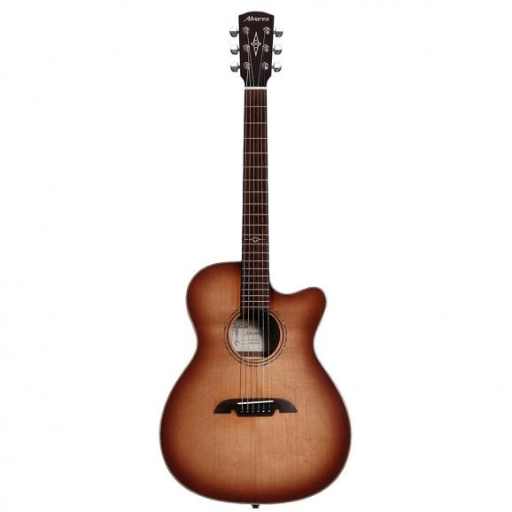 Alvarez Artist Elite ALAFA95CESHB OM Folk Acoustic Guitar