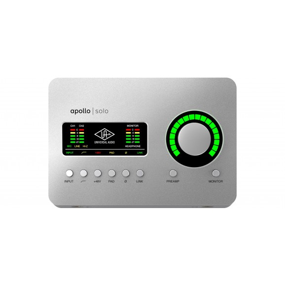 Universal Audio Apollo Solo Thunderbolt Interface