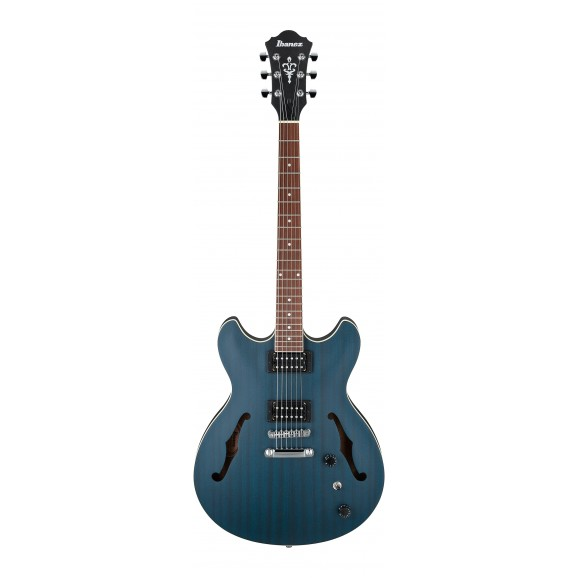 Ibanez -  AS53 TBF Electric Guitar - Transparent Blue Flat - 2019