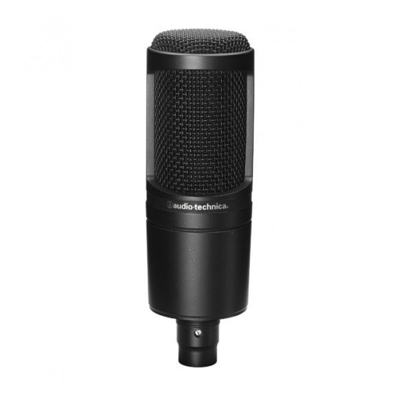 Audio Technica AT2020 Condenser Microphone in Black