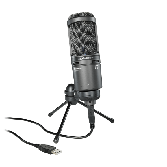 Audio Technica AT2020 USB Plus Condenser Microphone
